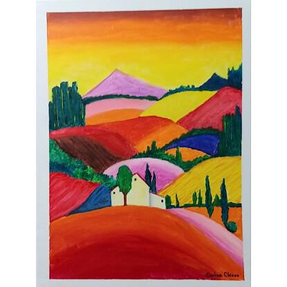 La montaña de los 7 colores