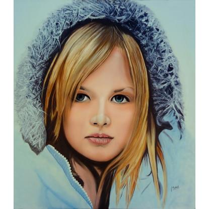 la chica de las nieves