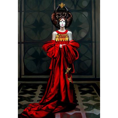 La reina del corazón carmesí