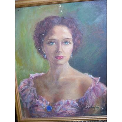 Retrato de Pilar Campins de Mira