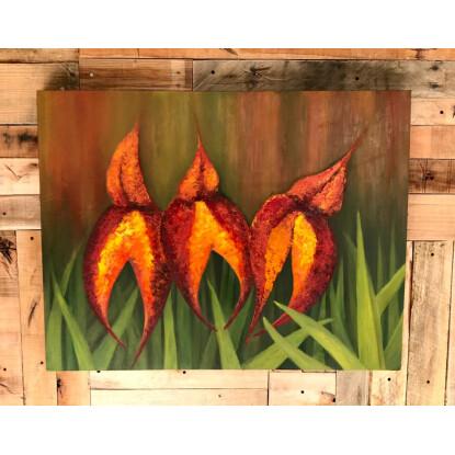 Tres Orquídeas Macchupichu